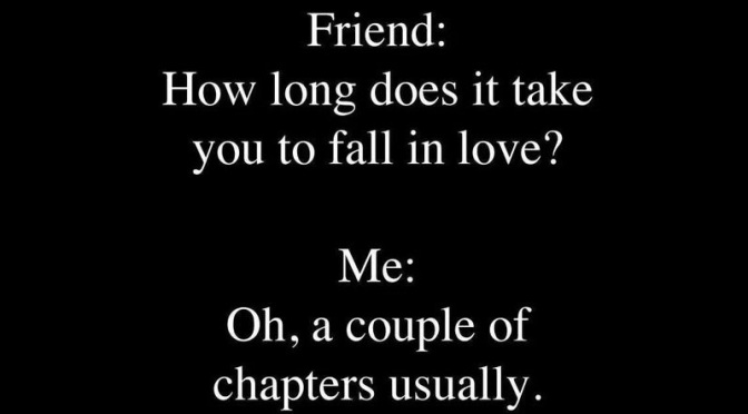 3 Day Quote: How Long Does It Take to Fall in Love?