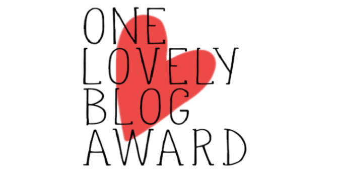 One Lovely Blog Award: 7 Weird Things About Crimson
