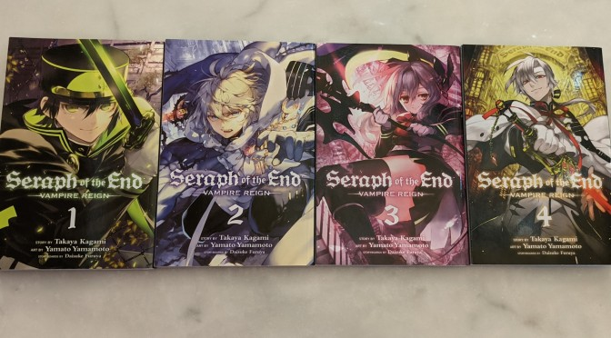 Currently Reading: Seraph of the End (v. 2 – 4)