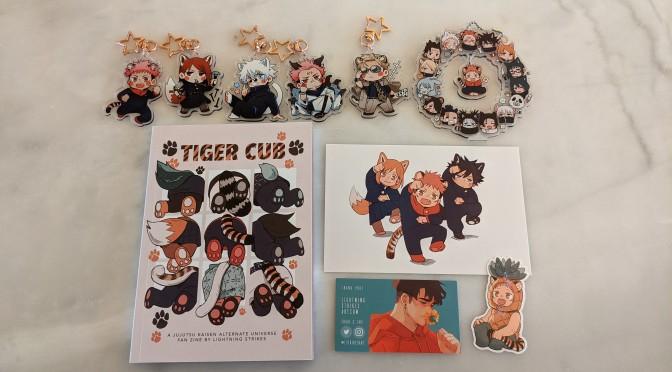 JJK Haul – Tiger Cub AU Zine by Lightning Strikes